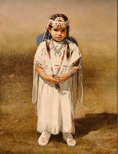 """Little Sioux"" -- Alfredo Rodriguez (1954, American)"