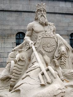 Sand art by strawbrryff, via Flickr