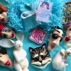 For sale on our Etsy shop Needle Felting Kits, Felt Books, We Bear, Work With Animals, Create A Family, Teddy Bears, Cool Cats, Kittens Cutest, Newborn Photography