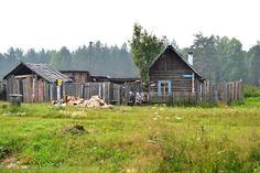 Siberian Village by John Holidis on 500px