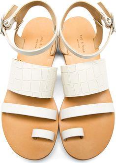 These beauties. Rag & Bone #sandals