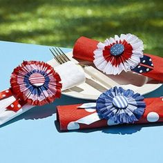 ciao! newport beach: festive 4th of july tables
