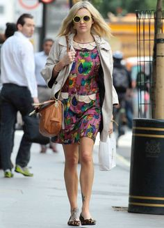 Fearne Cotton: Celebrity Sidewalk Style