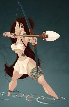 the Animation art of Malcon Pierce