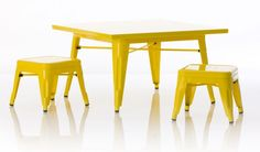 One Project Nursery reader will win the industrial table and chair set from Little Nest in your choice of yellow or white ($599 value). #giveaway