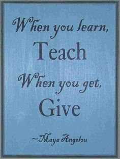 When you teach.... Please Share;-)   http://www.awakening-intuition.com/