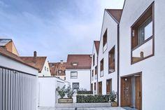Hofansicht - Stadthäuser