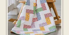Easily Enlarge This Into a Lap or Bed Quilt! Select a variety of fat quarters in pretty prints for this sweet quilt. It's a quick project for new babies and one that moms will appreciate. Choose several fabrics for a scrappy look or coordinate colors to match the nursery decor. Bold colors and fabrics will …