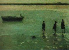 Philip Wilson Steer, beach and etaples