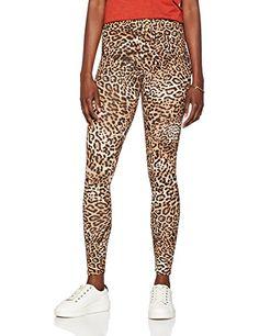 Femme Léopard Animal Imprimé Extensible Leggings Femme Pleine Longueur TAILLE HAUTE 8-22