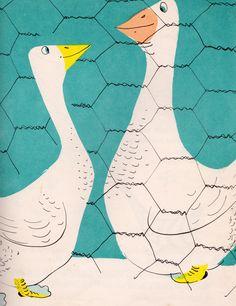Petunia's Christmas - written & illustrated by Roger Duvoisin (1952).