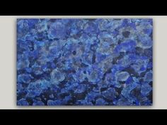 DIY Abstract Art Print   Acrylic Paint and Rubbing Alcohol Technique - YouTube