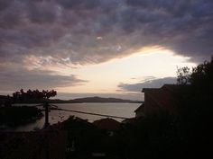 Sunset - view from my balcony. Trogir
