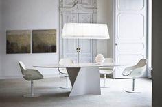Elica White Carrera Marble Dining Table by Prospero Rasulo for Zanotta
