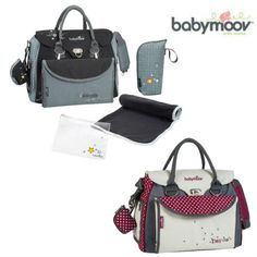 The Maternity bag Baby Style has multiple storage compartments and pockets to store your complete range of changing products.