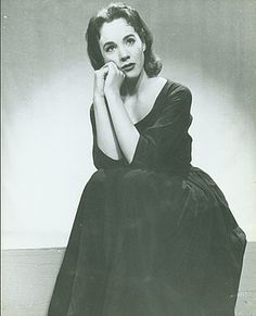 """A Promo Shot of Julie Andrews for Rodgers and Hammerstein's """"Cinderella"""" (1957)."""