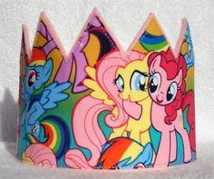 Birthday Crown Felt Birthday Crown Pony Birthday by MnMExtras