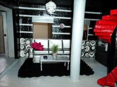 Monster High doll house and furniture tutorials