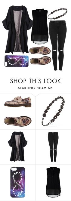 """""""Bez naslova #271"""" by emiidemii ❤ liked on Polyvore featuring Dr. Martens, Forever 21, Merci Me London, Topshop, Disney and Vero Moda"""