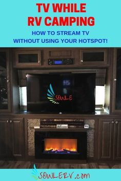 SOWLE RV | TV While RV Camping | How to watch your favorite shows while RV Camping | doesn\'t use up your hotspot | www.SOWLERV.com