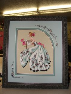 Rensel Studio does fabulous cross-stitch framing.