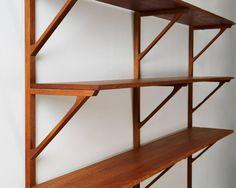 Bookcase and Desk Designed by Børge Mogensen for Erhard Rasmussen 8