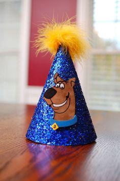 Scooby Doo Birthday Party Hat. $18.00, via Etsy.