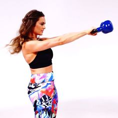 Get Total-Body Toned With This Kettlebell Workout From Emily Skye
