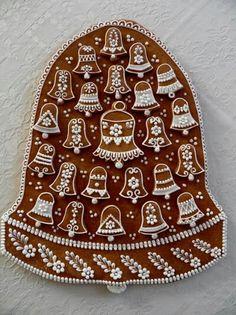 Gingerbread Gingerbread Houses, Christmas Gingerbread, Gingerbread Cookies, Ginger House, Winter Treats, Honey Cake, Meringue Cookies, Christmas Goodies, Macaroons