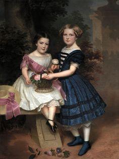 1848 Antonio María Esquivel Suárez de Urbina - Two girls