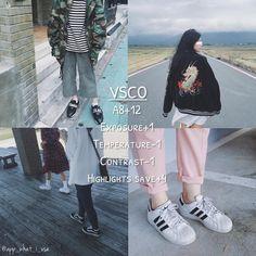 《v̫s̫c̫o̫の色調教學》 APP: VSCO ♡這個色調灰灰暗暗的,當你心情很憂鬱的時候可以用陰天的時候用更是適合! ☆調色如下: A8+12 Exposure曝光+1 Temperature色溫-1 Contrast對比-1 Highlights save高亮減淡+4 #vsco #a8 #filter_i_use