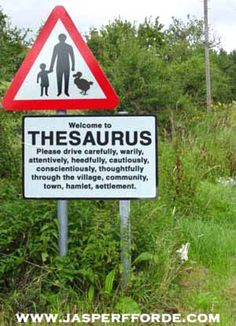 Welcome to Thesaurus