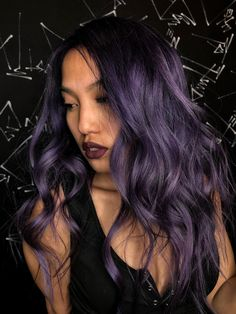Taro Bubble Tea Is the Tastiest New Purple Hair-Color Trend for Spring