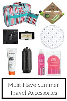While you've been busy shoving all of your winter clothes into storage for a few months, we have been trying out some of the best new products for summer. Whether you're heading overseas, hitting the open road or even acting like a tourist in your hometown, we've got some of the best travel accessories to make your summer shine.