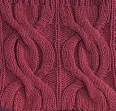 Ribbed Cables Square #free #knit #knitting #pattern #motif #square #freepattern #freeknittingpattern