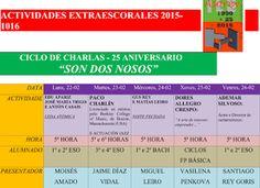 CORES DE CAMBADOS: O I.E.S. ASOREY CUMPRE 25 ANOS CON ACTIVIDADES CUL...