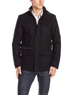 Calvin Klein Sportswear Men's Basic Wool 4-Pocket Jacket, Black, Small Calvin Klein http://www.amazon.com/dp/B00MIJN5P8/ref=cm_sw_r_pi_dp_AZlEub023CPV2
