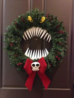 Nightmare Before Christmas Reef | Christmas Decorating