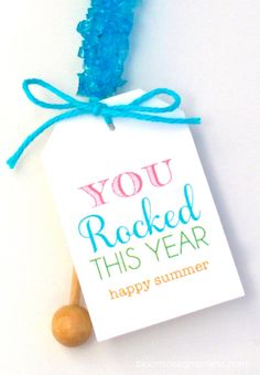 You rocked this year. Maybe use with pop rocks?