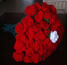 mooie bos rozen bijv. 50-jarig huwelijk