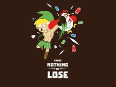 Nothing to lose - Nothing to lose - Propuesta para camiseta de  laurancw presentada a concurso en Pampling. Admirala, votala y comentala en Pampling.com.  Siguenos en facebook.com/pampling