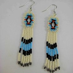 Native American Beaded Necklace Designs   Native American Beaded Earrings