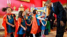 Girl Scouts meet Barack Obama at White House Science Fair 2015  Read more: http://www.bellenews.com/2015/03/24/world/us-news/girl-scouts-meet-barack-obama-at-white-house-science-fair-2015/#ixzz3VIIjhUYR Follow us: @bellenews on Twitter   bellenewscom on Facebook