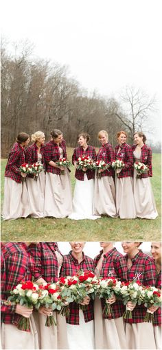 Wintery wedding with
