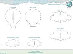 Mobile de encaixe (nuvens e balão) - feltro |                                                                                                                                                                                 Mais