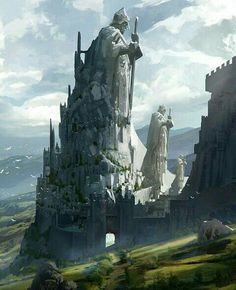 67 Fantasy and Medieval Buildings, Cities & Castles Concept Art to Inspire You From medieval city concept art up to fantasy and medieval castle concept art, our gallery depicts the imagination of extraordinary artists materialized! Fantasy Castle, High Fantasy, Medieval Fantasy, Fantasy World, Medieval Castle, Celtic Fantasy Art, Fantasy City Map, Fantasy Artwork, Fantasy Concept Art