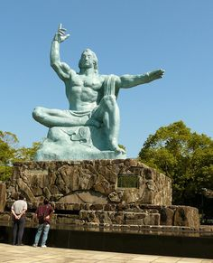 A cruise excursion to the Peace Park and Atomic Museum in Nagasaki, #Japan is a sober experience.  #boomer #travel