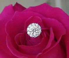 Hearts on Fire Beloved Ideal Cut Diamond Halo Engagement Ring Ideal Cut Diamond, Fire Heart, Halo Diamond Engagement Ring, Fine Jewelry, Jewellery, Luxury Jewelry, Diamond Jewelry, Jewelry Collection, Heart Ring