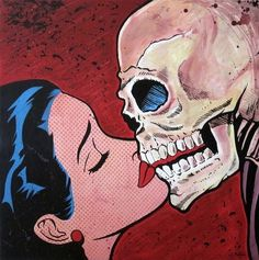 Vintage Horror, Vintage Cartoon, Vintage Comics, Vintage Art, Arte Grunge, Grunge Art, Art Pop, Arte Horror, Horror Art