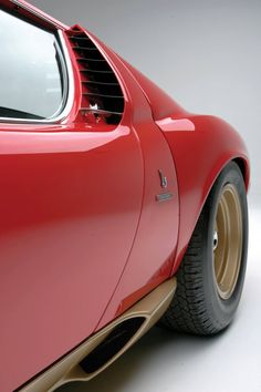 Bertone, Lamborghini Miura SV, 1971. Via rm auctions. Sold for $2,310,000
